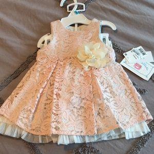 Other - Baby girl flower dress
